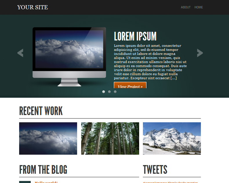 showcase wordpress portfolio theme
