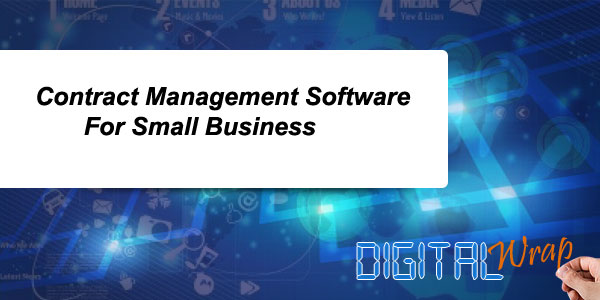 Contract Management Software For Small Business