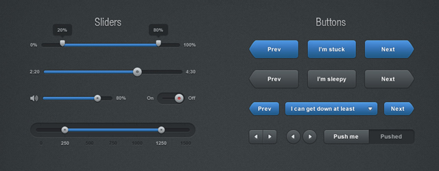 Ultimate UI Kits (Web & Mobile ) for GUI Designers: FREE PSD Downloads
