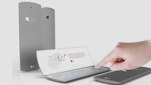 The Concept of LG Touch Mobiles Design