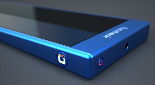 The Blue Experience Facebook Phone